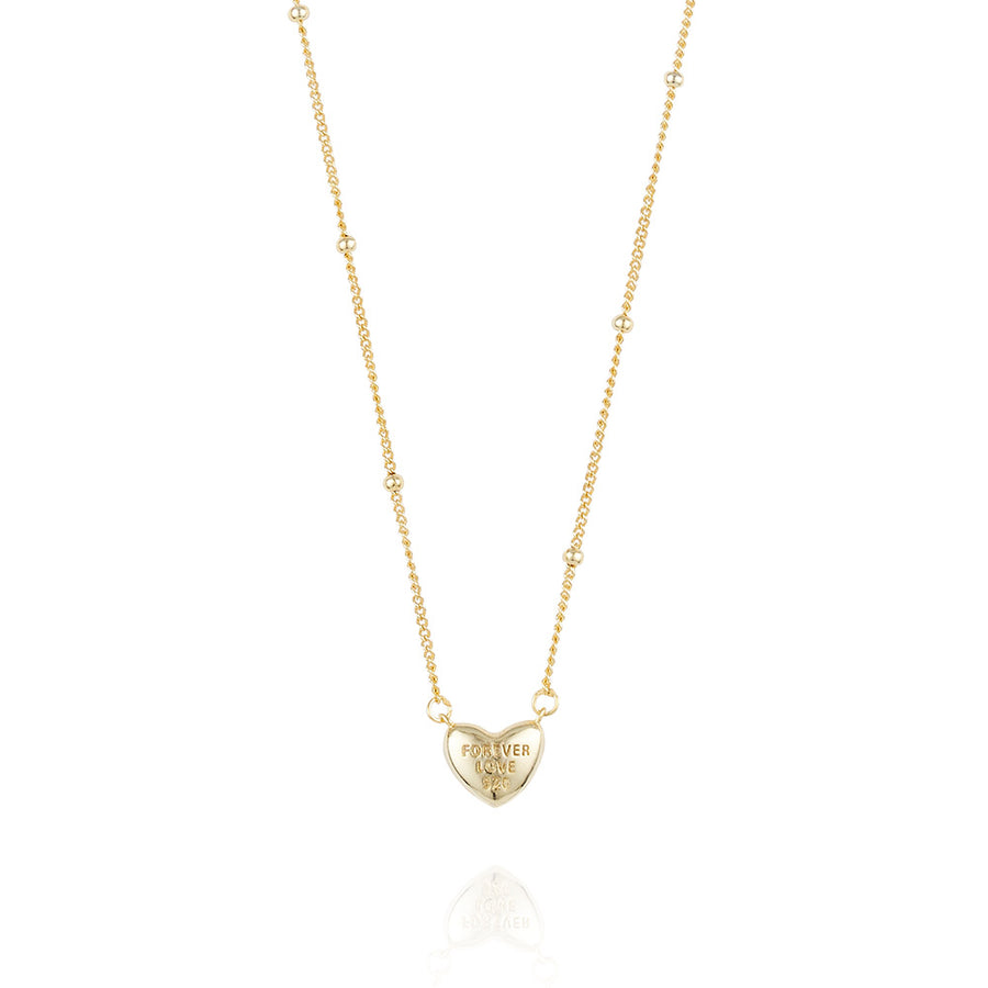 [925 silver] Newtro Heart Necklace