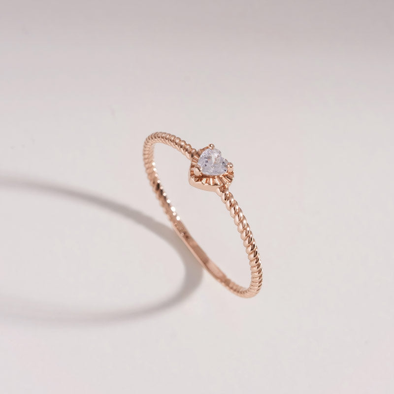 [20% OFF SALE][14K Gold] Muse Heart Ring