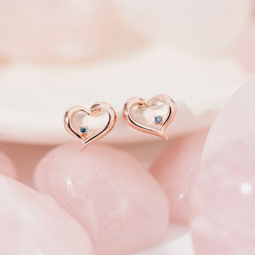 [925 silver] Laily Heart Earring