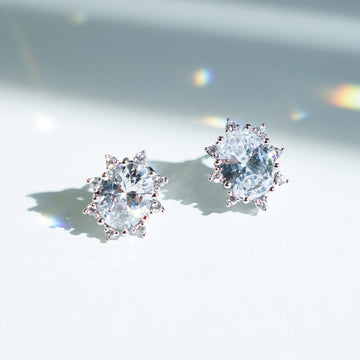 [DayBling] DREAMER Earring (swarovski crystal, silver post)