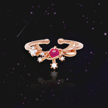 SHOOTING STAR BIRTHSTONE Ring (swarovski) - Wingbling Global