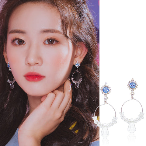 ICE BLOOMING Earring (clip-on available) - Wingbling Global