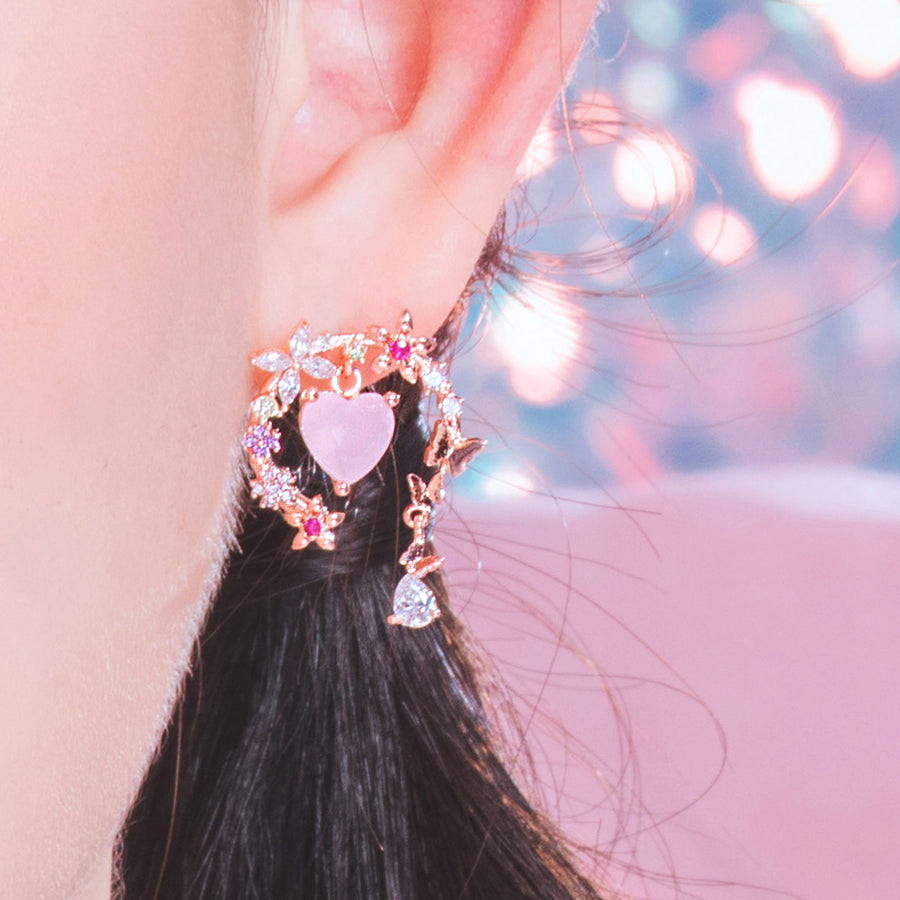 [40% OFF]TREMBLING HEART Earring