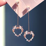 EL, FAIRY OF LOVE Earring (silver post) - Wingbling Global