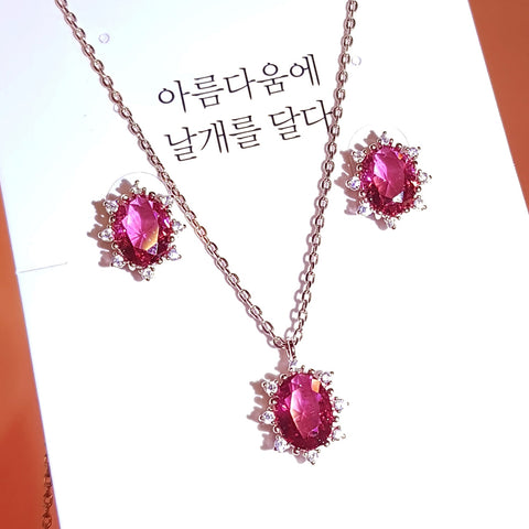 DREAM PIECES Earring & Necklace Set - Wingbling Global
