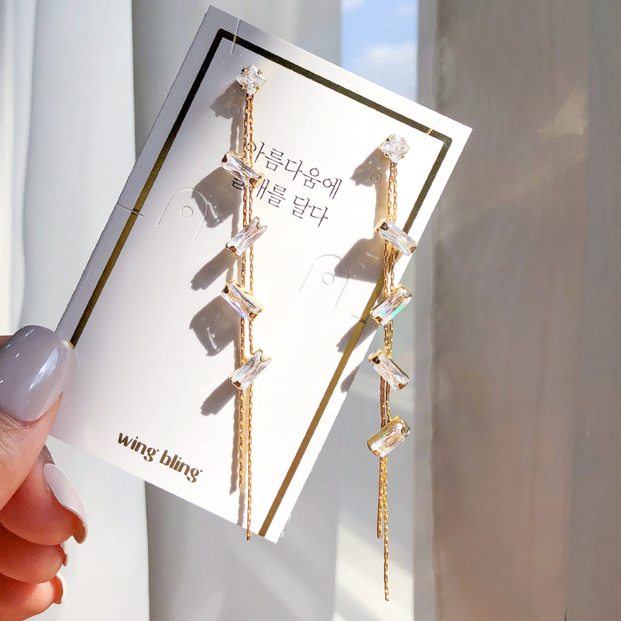 GOOD DAY Earring (silver post) - Wingbling Global