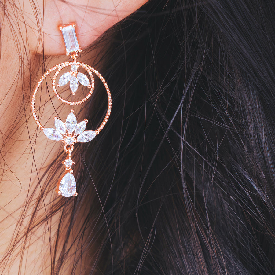 LUCIA Earring (silver post) - Wingbling Global