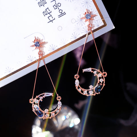 SECRET NIGHT Earring (silver post) - Wingbling Global