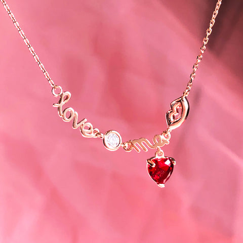LOVE ME TELL ME Necklace - Wingbling Global