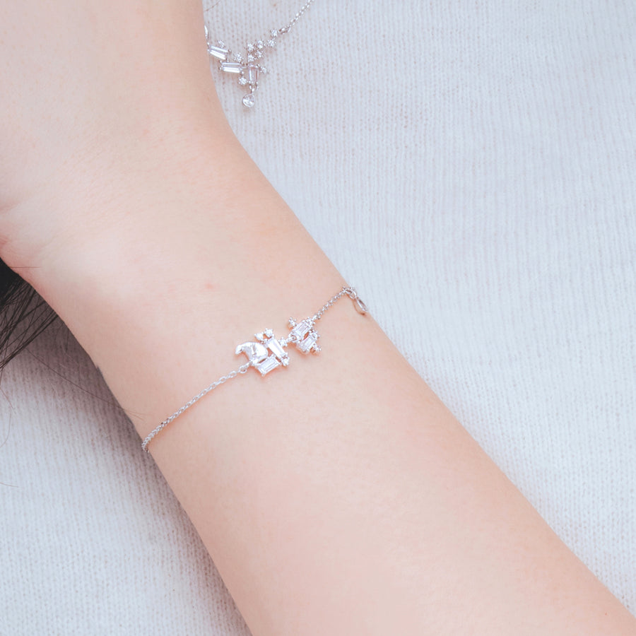 TEAR OF GLACIER 1-POLAR BEAR Bracelet