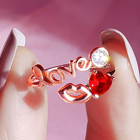 LOVE ME TELL ME Ring - Wingbling Global