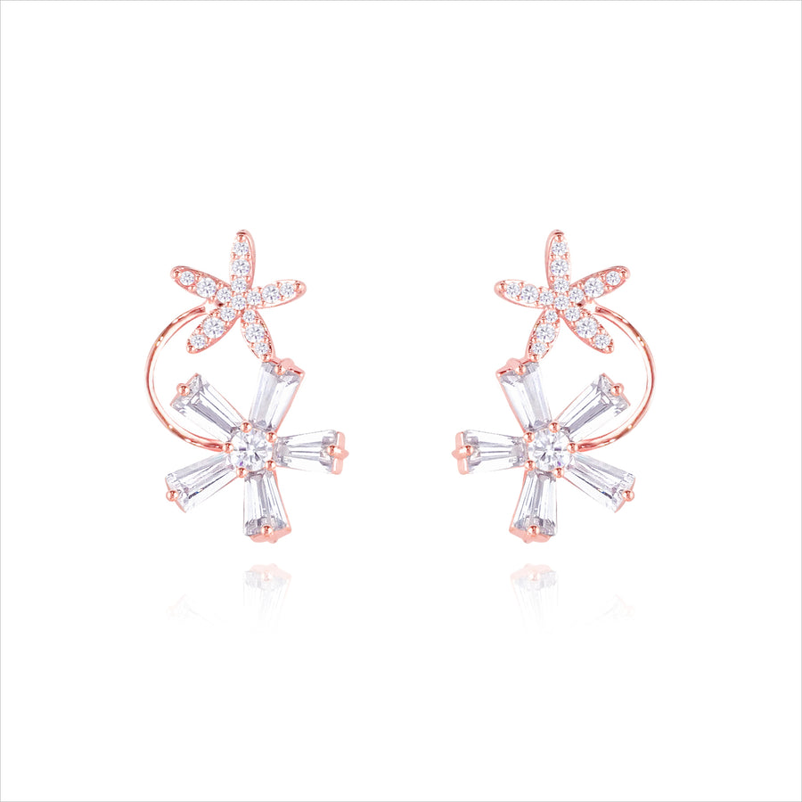 MER JASMINE Earring (silver post) - Wingbling Global