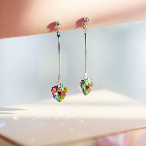 LOVEHOLIC Earring (Swarovski, clip-on option available) - Wingbling Global