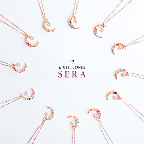 SERA Necklace (birthstone) - Wingbling Global