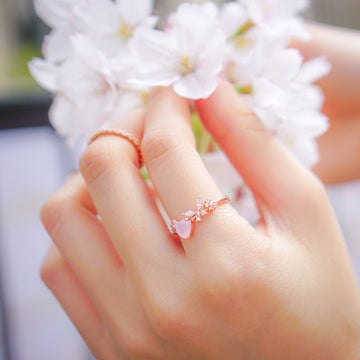 ANN Ring (rose quartz) - Wingbling Global