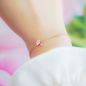 WHISPER OF LOVE 2 Bracelet (rose quartz) - Wingbling Global