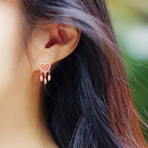 LOVE DREAMCATCHER 2 SWEAT DREAM Earring - Wingbling Global
