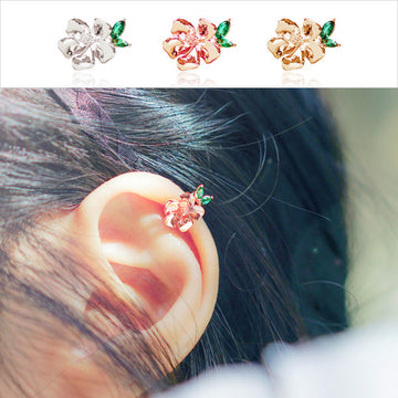 ROSE OF SHARON - SINGLE-HEARTED 1 Ear Cuff - Wingbling Global