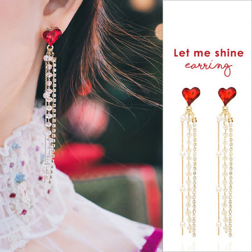 LET ME SHINE Earring (clip-on option available, worn by Twice) - Wingbling Global