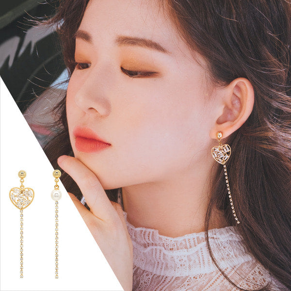 FALL IN LOVE WITH YOU Earring (clip-on option available) - Wingbling Global