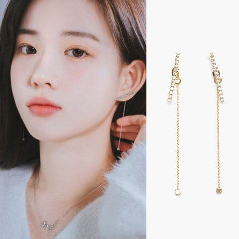 JANE Earring (swarovski crystal) - Wingbling Global