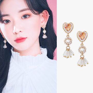 ROMANTIC DAY Earring (silver pin, clip-on available) - Wingbling Global