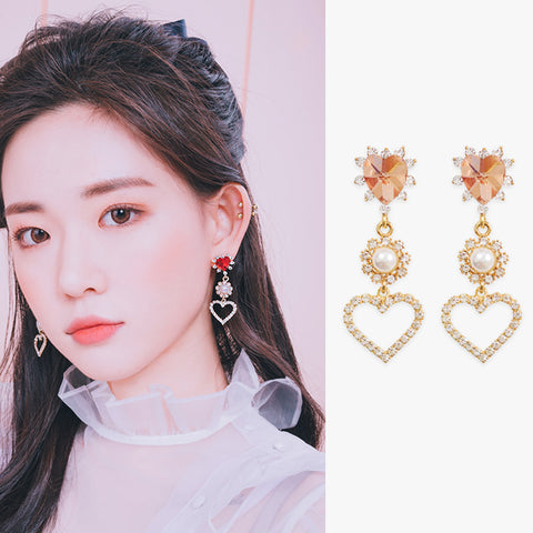 DREAM OF LOVE Earring (silver pin, clip-on available) - Wingbling Global