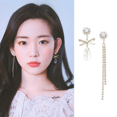 YOU ARE MY GIFT Earring (clip-on available, swarovski) - Wingbling Global