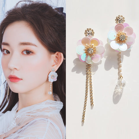 PRETTY IN SPRING Earring (clip-on available, swarovski) - Wingbling Global