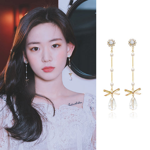 YOU ARE MY GIFT 2 Earring (clip-on available, swarovski) - Wingbling Global