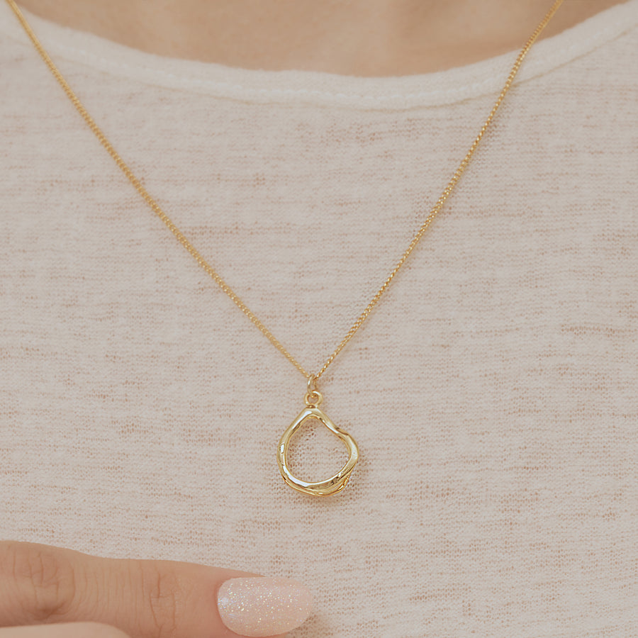 Mono Circle Necklace