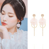 SPRING CHERRY BLOSSOM Earring (clip-on available, swarovski)--Temporarily Unavailable - Wingbling Global