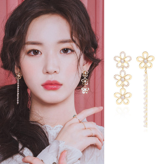 YOU ARE A FLOWER Earring (clip-on available) - Wingbling Global