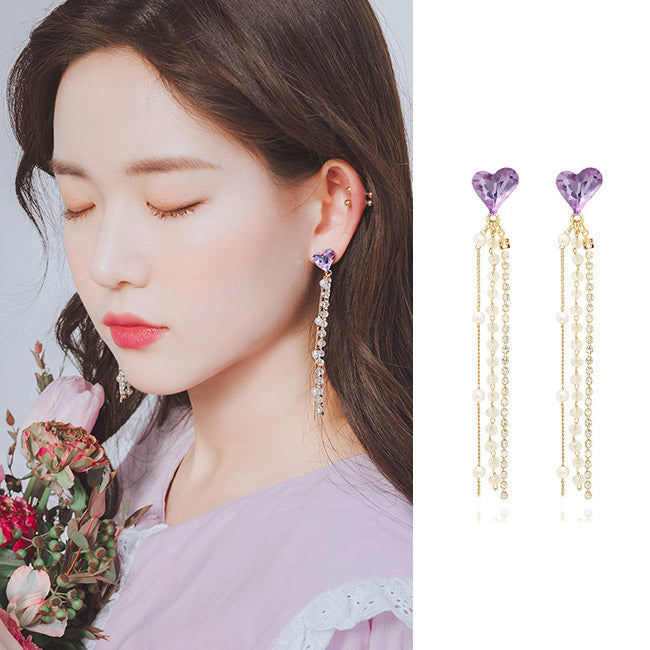 LET ME SHINE 2018 EDITION Earring (clip-on available, silver pin) - Wingbling Global