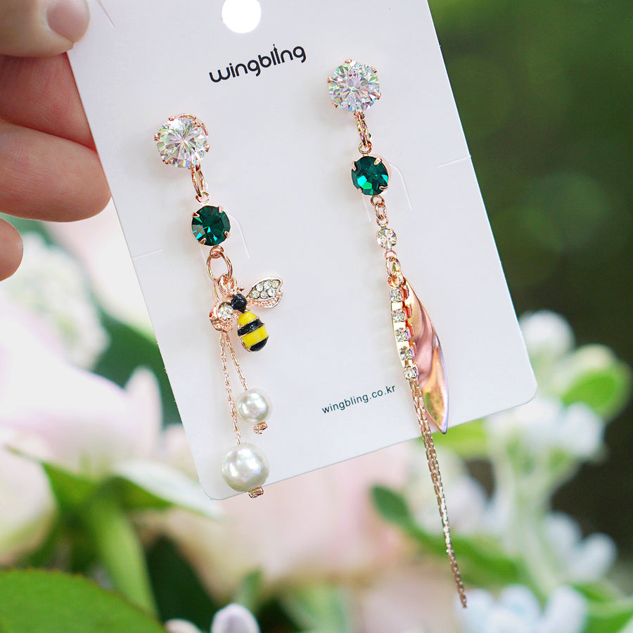 [30% OFF] Melonia Honey Bee Earring