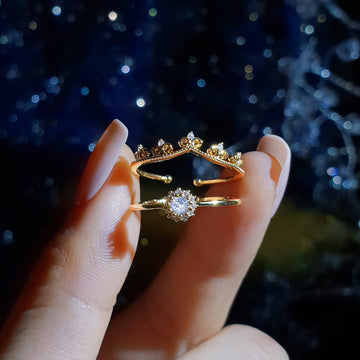 ELLUA CHANDELIER Ring Set