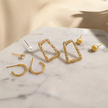 Momo Earrings SET