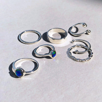 STARLIGHT Bracelets and Rings Set