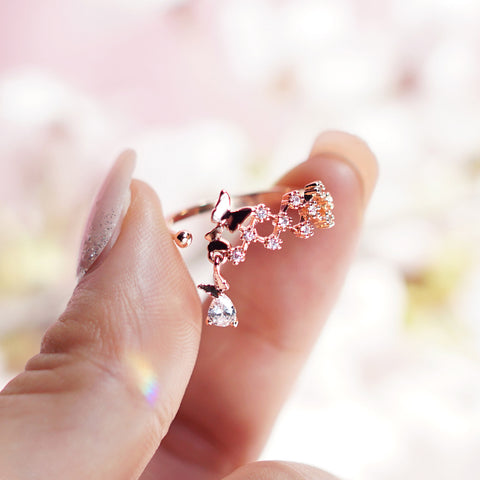 BUTTERFLY WALTZ Ring - Wingbling Global