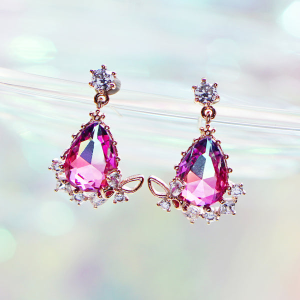 HOLIDAY FAIRY Earring (sliver post) - Wingbling Global