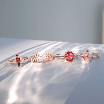 LONDON LADY Rings Set