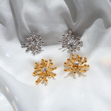 Shine Flower Earring