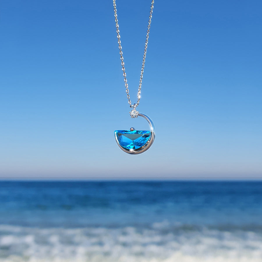 [Delay in Shipment Until End-July] Hello, Ocean Necklace