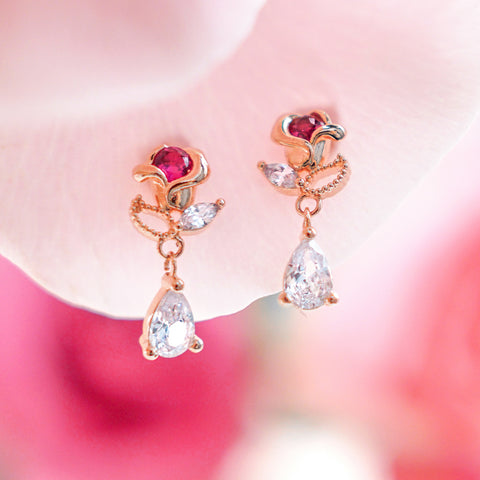 FLORIA Earring (silver post)