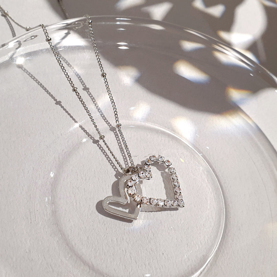 Twinkle Heart Necklace