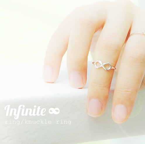 ARON INFINITY Ring / Knuckle Ring - Wingbling Global