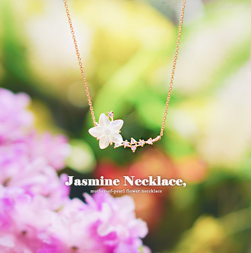 JASMINE Necklace - Wingbling Global