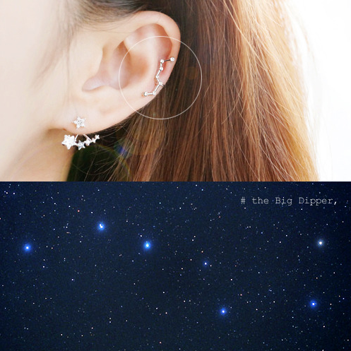 EKKLA THE BIG DIPPER Ear Cuff - Wingbling Global