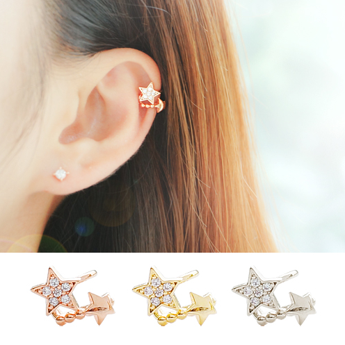 TWO STAR Ear Cuff - Wingbling Global