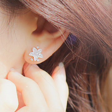 JASMINE Earring (silver pin) - Wingbling Global